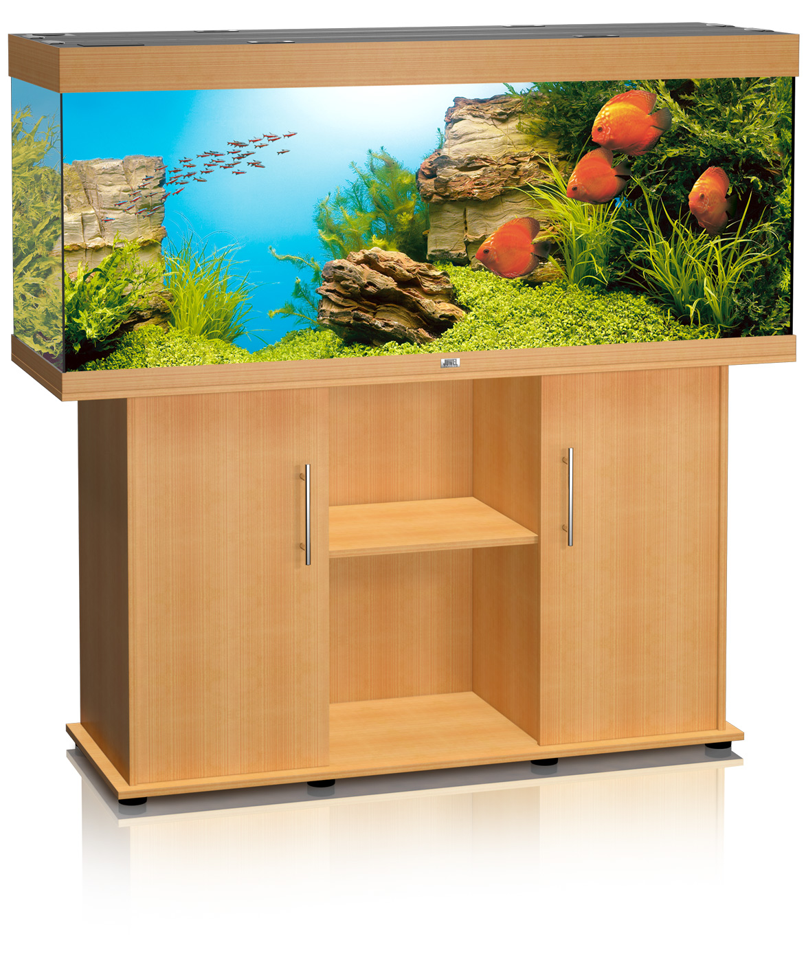 Juwel rio 450 aquarium and cabinet for Meuble aquarium 120 cm