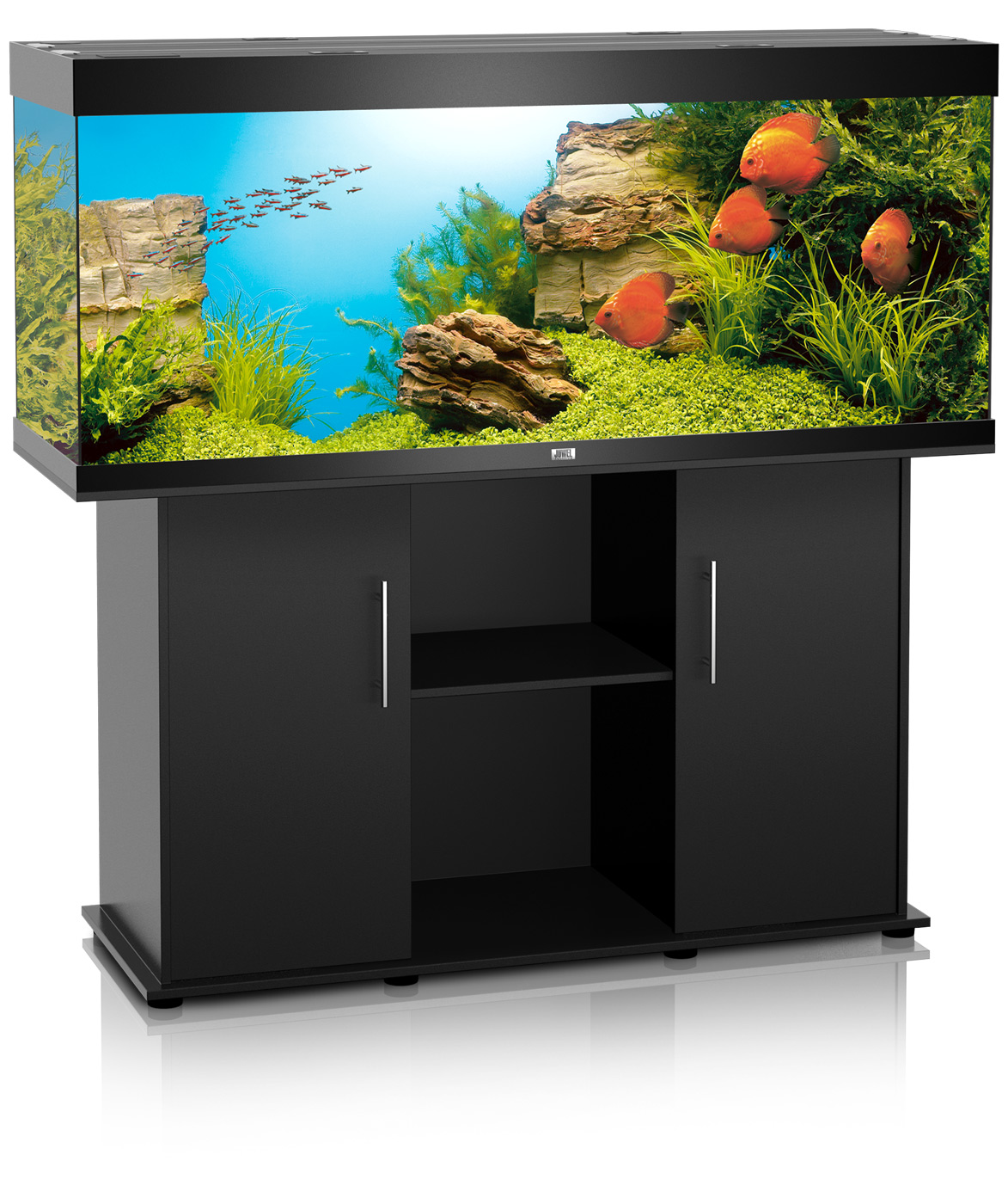 juwel rio 400 aquarium and cabinet. Black Bedroom Furniture Sets. Home Design Ideas