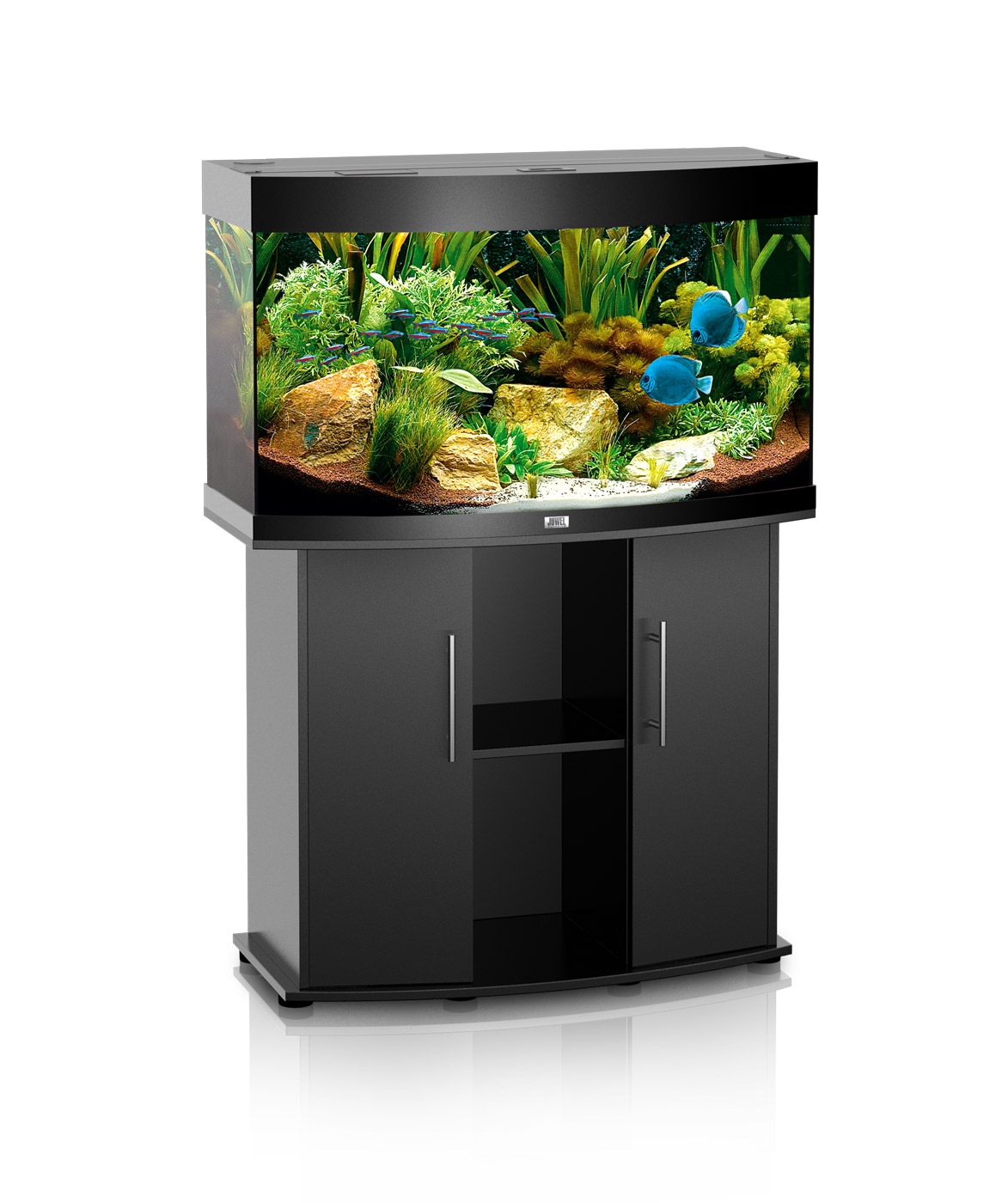juwel rio 180 dark wood aquarium and cabinet. Black Bedroom Furniture Sets. Home Design Ideas