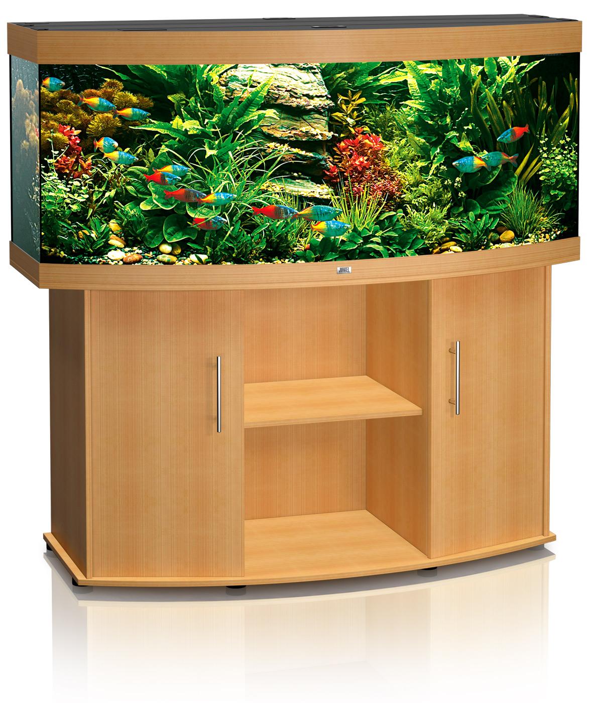 Juwel aquarium fish tank - Vision 450 Beech Juwel Vision 450 Aquarium