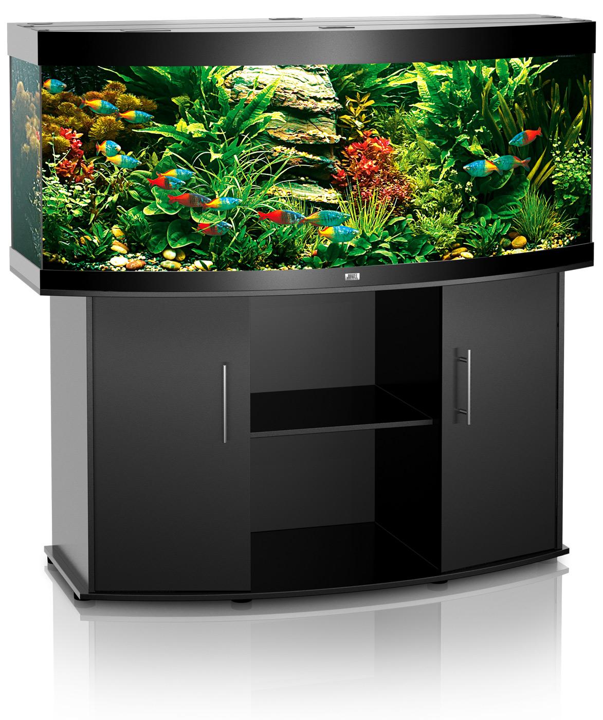 Juwel aquarium fish tank - Juwel Vision 450 Aquarium And Cabinet Vision 450 Black 1243664252
