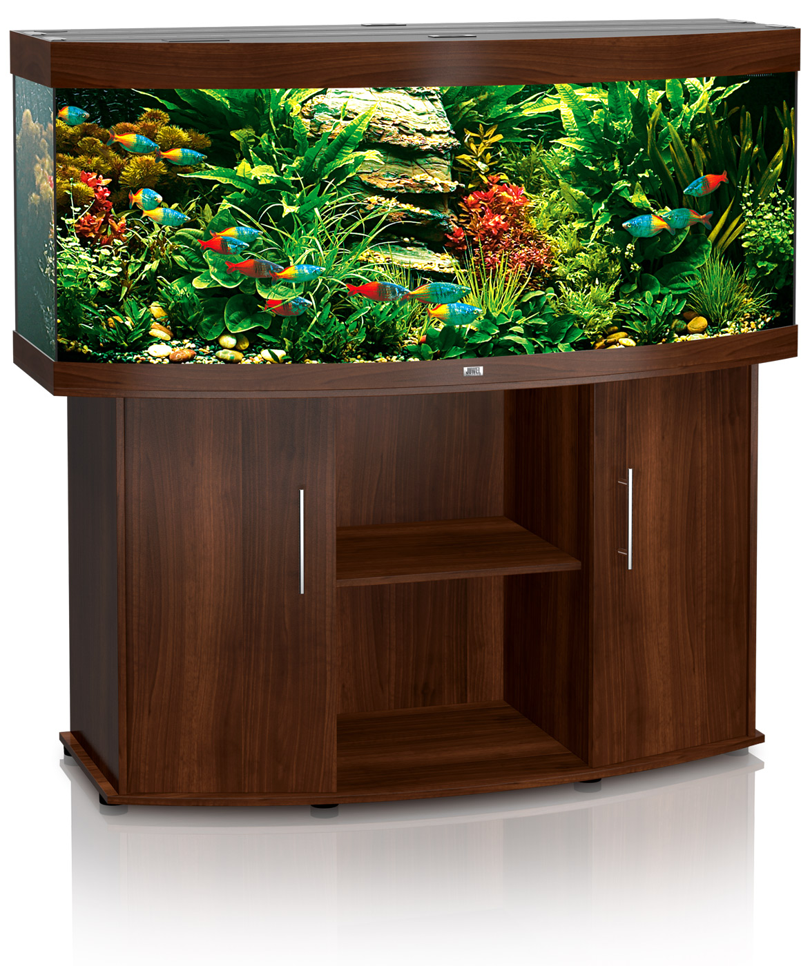 Fish tank wood - Vision 450 Dark Wood Juwel Vision 450 Aquarium